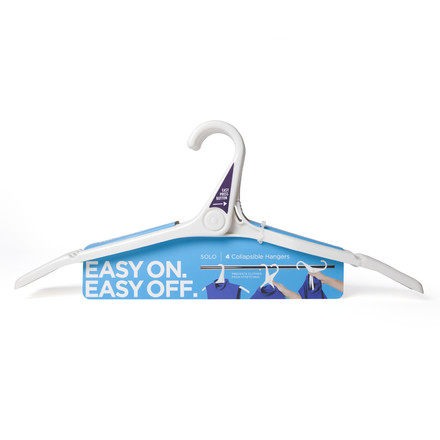 Quirky - solo multi-hanger, white - set, single image