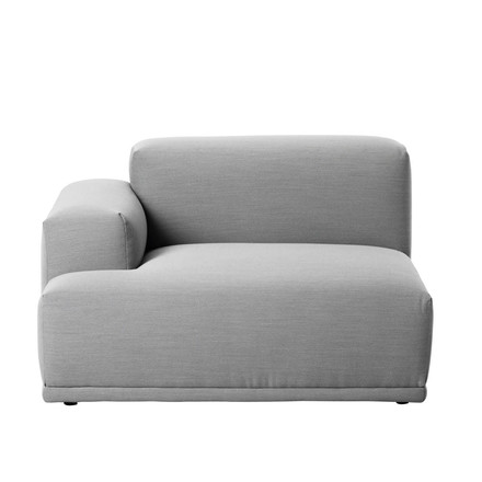 Muuto - Connect sofa, corner, right armrest, Remix 123, single image