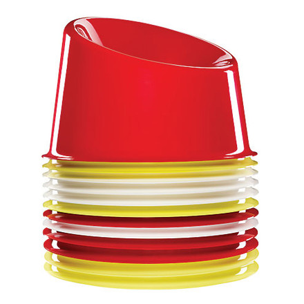 Verpan - Panto Pop chair - stacked