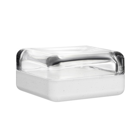 Iittala - Vitriini, Durat, clear/white, 180 x 180 mm, single image
