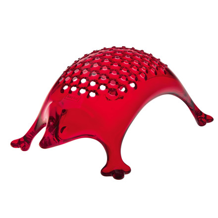 Koziol - Kasimir Cheese Grater, clear, red