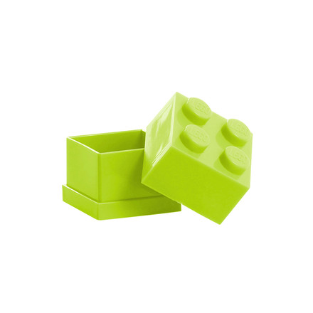 Lego - Mini-Box 4, lime - open