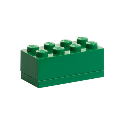 Lego - Mini-Box 8, dark green, single image
