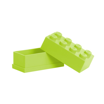Lego - Mini-Box 8, lime - open