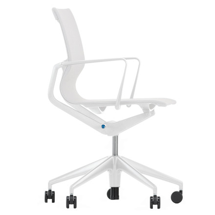 Vitra - Physix office chair, silver/ soft grey, single image