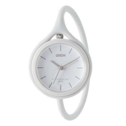 Lexon - Take Time watch, white, single image