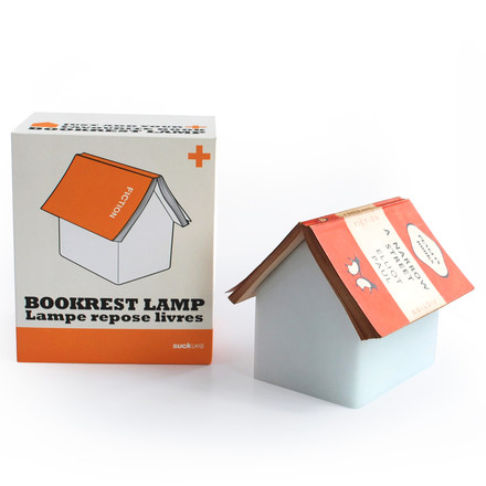 Suck UK - Book Rest Lamp - package