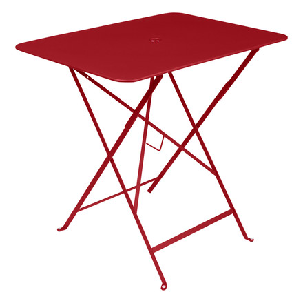 Fermob - Bistro folding table, 77 x 57 cm, poppy red, single image