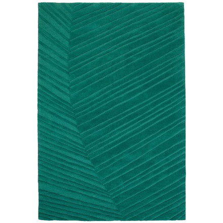 Ruckstuhl - Palm Leaf carpet, pine green, single image