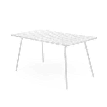 Fermob - Luxembourg Table, rectangular, white, single image