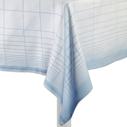 Hay - S&B Tablecloth Double Grid, blue - table