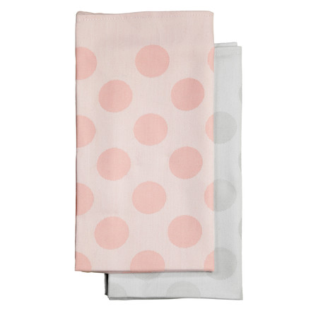 Hay - S&B Napkin Dot, red, grey, group image