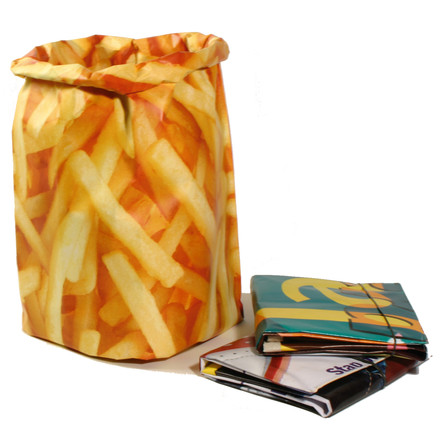 Goods - Paperbag Dustbin, fries