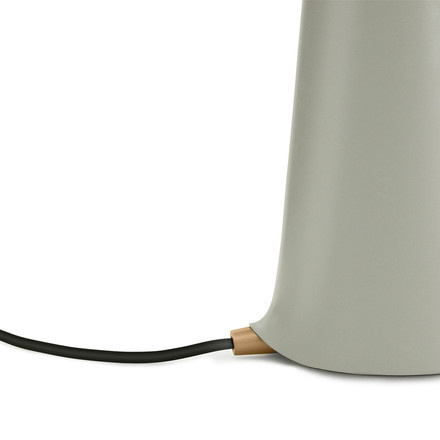 Normann Copenhagen - Shelter table lamp, sand - cable
