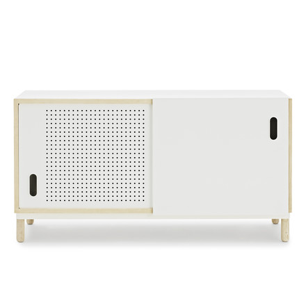 Normann Copenhagen - Kabino Sideboard, white - front, single image