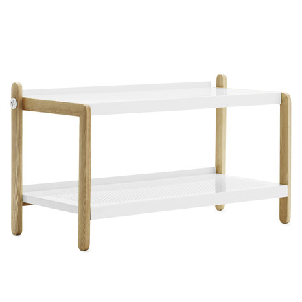 Normann Copenhagen - Sko shoe rack, white, single image