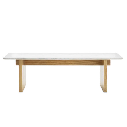 Normann Copenhagen - Solid couch table - front
