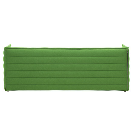 Vitra - Alcove Plume Sofa, green - back