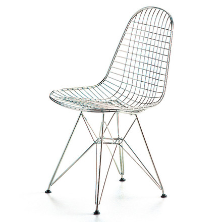 Vitra - Wire Chair DKR, chrome plated