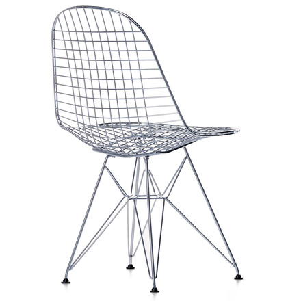 Vitra - Wire Chair DKR, chrome plated - backside