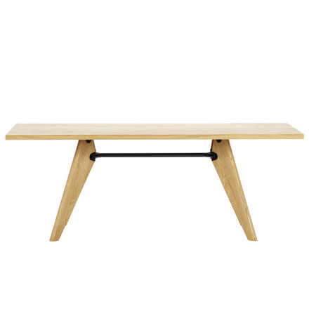 Vitra - Table Solvay dining table, natural oak wood, 18 cm