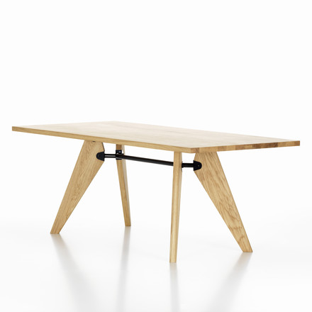 Vitra - Table Solvay dining table - inclined