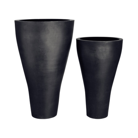 amei - The cone one, plant container, XXL, black