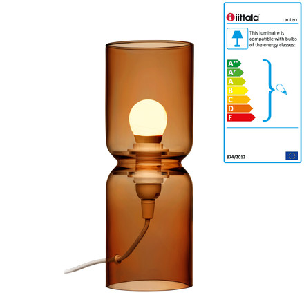 Iittala - Lantern Lamp, 250 mm, copper