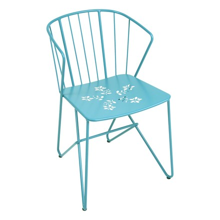 Fermob - Flower armchair, turquoise, single image