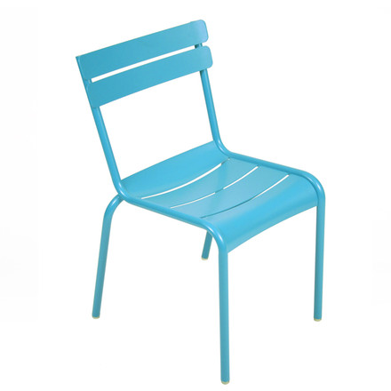 fermob - Luxembourg chair, stackable - Fjord blue