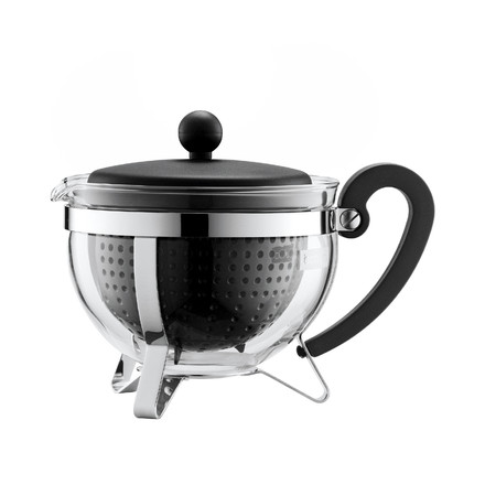 Bodum - Chambord tea maker plastic, black, 1,0 L, single image