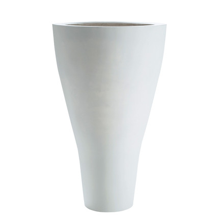 amei - The cone one, plant container, XXL, white