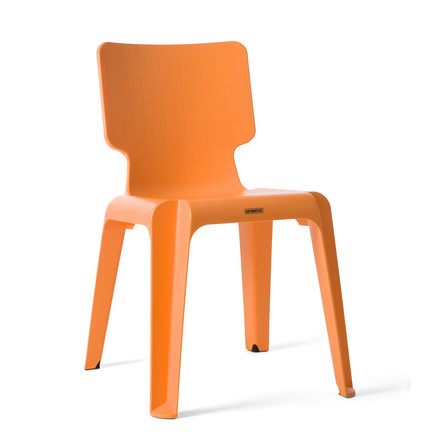 Authentics - Wait chair, orange
