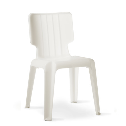 Authentics - Wait chair, translucent white