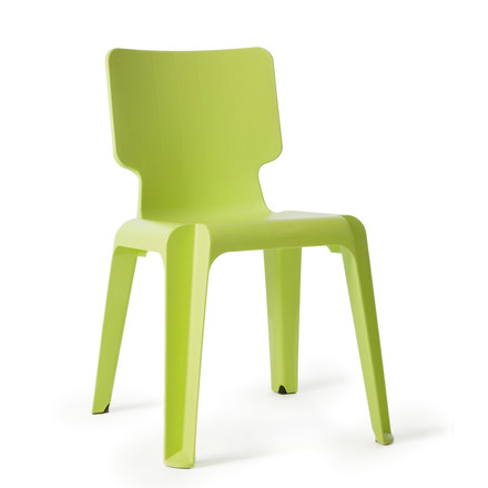 Authentics - Wait chair, lime green