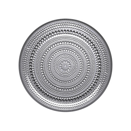 Iittala - Kastehelmi plate 17cm, grey, single image