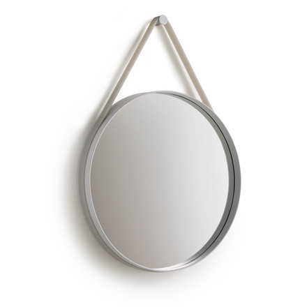 Hay - Strap Mirror, grey 50 cm - single image