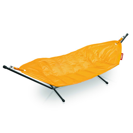 fatboy Hammock, ochre yellow / black frame - single image