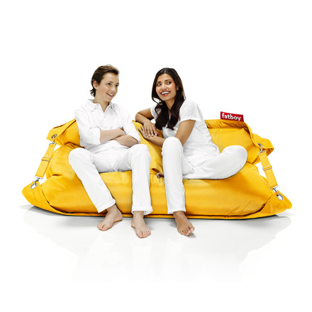 fatboy Outdoor, ochre yellow / with persons
