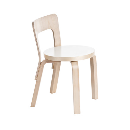 Artek - N65 children's chair, white