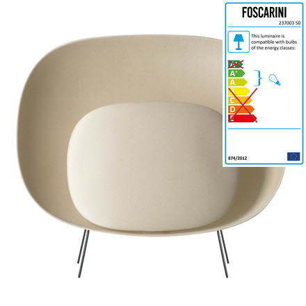 Foscarini - Stewie Floor Lamp, ivory, single image