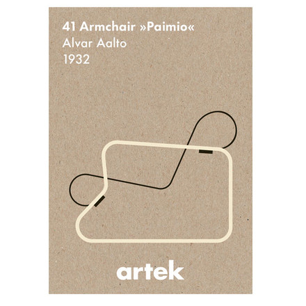 Artek - Icon Poster - Paimio, single image