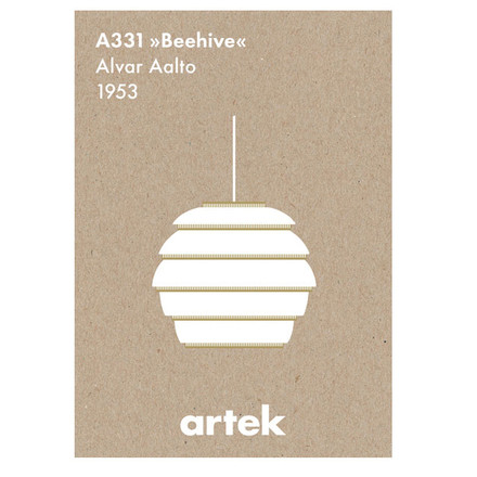 Artek - Icon Poster - Beehive, single image