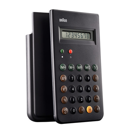 Braun, Calculator BNE001BK - with slide cover