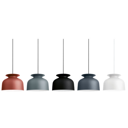 Gubi - Ronde pendant lamp, Ø 40 cm - group, colours