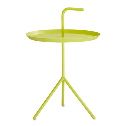 Hay DLM XL side table, yellow / single image