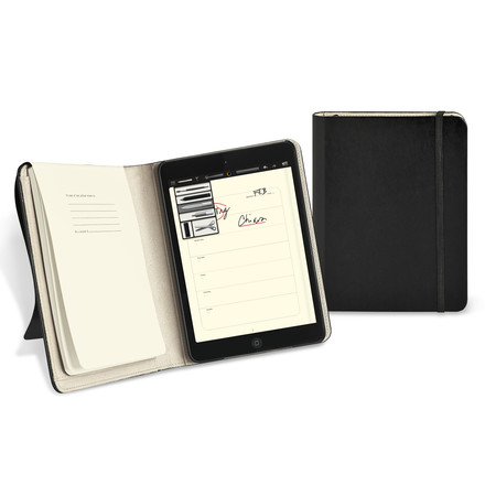 Moleskine - iPad mini Cover - open and close
