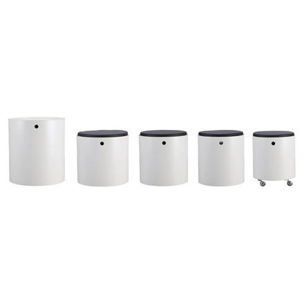 Verpan - Party Set, white - single cylinders, single image