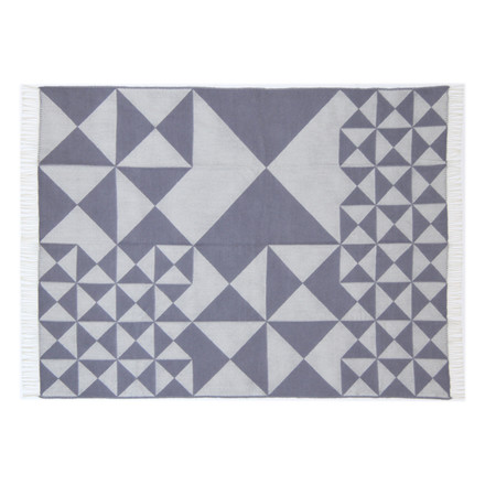 Verpan - Mirror Throw, grey