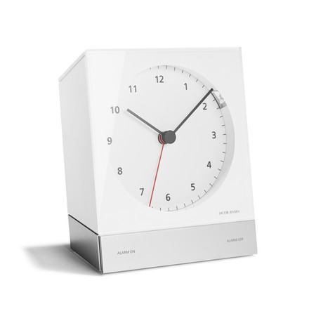 Jacob Jensen - Alarm Clock Series Quartz 342, white
